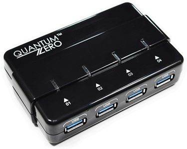 QuantumZERO QZ-HB05 USB 3.0 4-Port USB HUB
