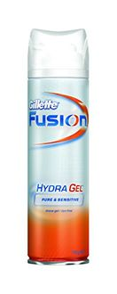 Gillette Fusion Hydra Gel Pure and Sensitive Shave Gel