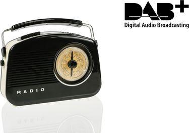Konig Steepletone 2 DAB+ Retro FM Radio
