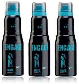 Engage Mate Deodorants Combo (Set of 3)