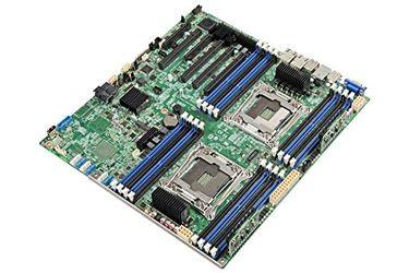 Intel DBS2600CW2 Chipset Dual Socket R3 (LGA2011v3) DDR4 RAM Server Motherboard