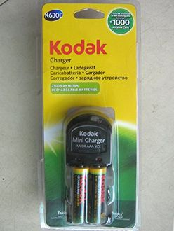 Kodak K630E Battery Charger (With 2 AA Rechargeable Batteris)