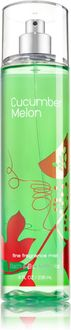 Bath & Body Works Cucumber Melon Signature Collection Fine Fragrance Body Mist - For Girls, Women