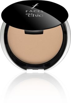 Faces Go Chic Pressed Powder Ivory-01 Compact (Ivory)