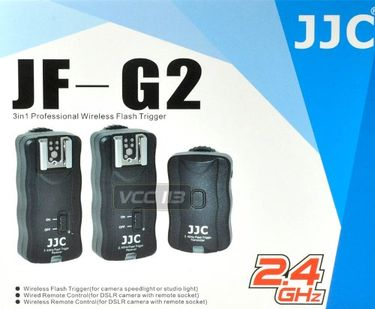 JJC JF-G2 Wireless Remote Control And Flash Trigger Kit