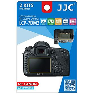 JJC LCP-7DM2 LCD Screen Protector (For Canon EOS 7D Mark II)