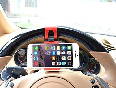 Asspee Steering Wheel Mobile Holder