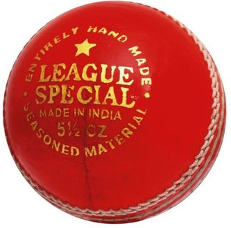 Cw League Special Leather Cricket Ball (Pack of 3)