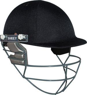 Shrey Match with Stainless Steel Visor Cricket Helmet - (Large)