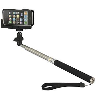Gioiabazar GB11767 Selfie Stick With Adjustable Phone Clamp