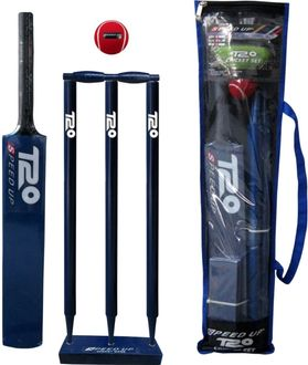 Speed Up 1691-6-Bl-T20 Combo Cricket Kit