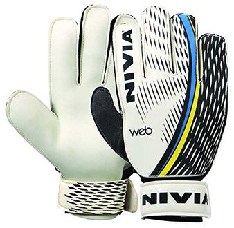 Nivia Web Goalkeeping Gloves (Medium)