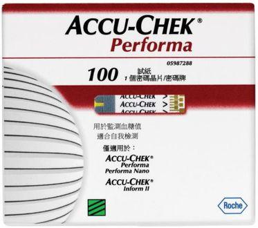 Accu-Chek Performa 100 Test Strips (Strips Only)