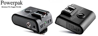 PowerPak TC-25S Wireless Transceiver Flash Trigger
