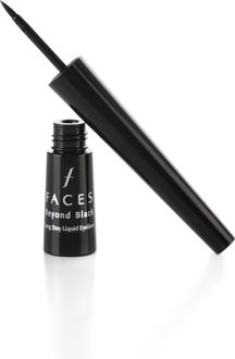Faces Beyond Black Long Stay Liquid Eyeliner (Black)