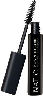 Natio Maximum Curl Water Resistant Mascara -Blackest Black (10ml)