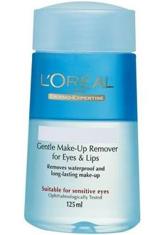 Loreal Paris  Dermo Expertise Gentle Lip & Eye Makeup Remover 125 ml