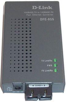 D-Link DFE-855Mi Media Converter Multimode Switch