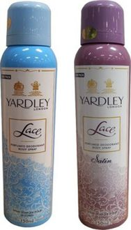 Yardley  Lace and Lace Satin Combo (Set of 2)