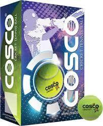 Cosco Hi-Bounce Tennis Cricket Ball (Pack of 6)