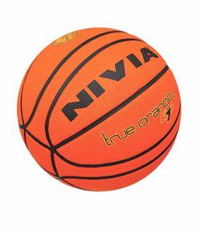 Nivia True Orange Basketball (Size 7)