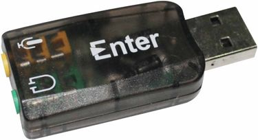 Enter (ETR_01MAP005) 5.1 CH External USB Sound card