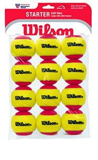 Wilson Starter Tennis Balls (Pack of 12)