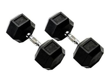 TTC Fitness Hexagonal Dumbbells 10Kg (Pack of 2)