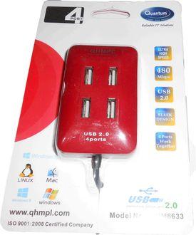 Quantum QHM 6633 4 Port USB HUB