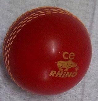 Rhino Wind Plastic Cricket Ball (Pack of 6)