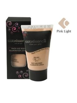 Coloressence Face and Body illuminator Lotion (Peach Light)