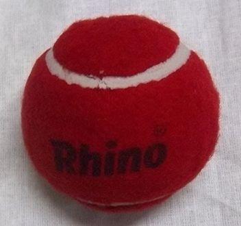Rhino Regular Quality Heavy Weight Cricket Tennis Ball (Pack of 6)