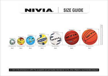 Nivia Spiral Volleyball (Size 4)