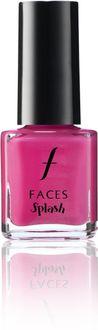 Faces Splash Nail Enamels (Pink Flemenco)