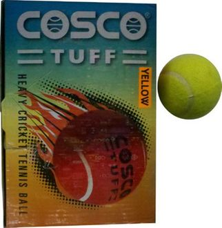 Cosco Tuff Heavy Weight Cricket Ball (Pack of 6)