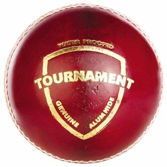 SG Tournament Red Leather Balls (Pack of 12)