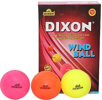 Dixon Wind Ball Synthetic Cricket Ball (Pack Of 6)