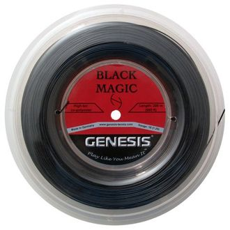 Genesis Black Magic Tennis Racquet String 200m