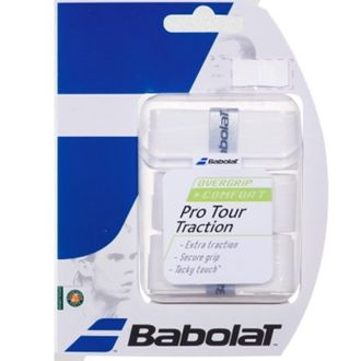 Babolat Pro Tour Traction Tennis Overgrip (Pack of 3)