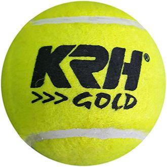 KRH Unisex Cricket Tennis Ball (pack of 6)