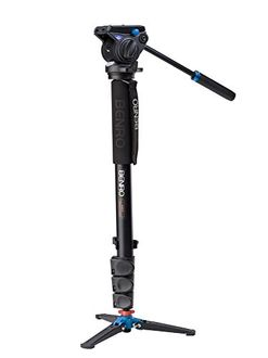Benro A48FDS4 Monopod (with 3-Leg Locking Base and S4 Head)
