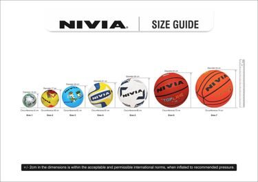 Nivia Merger Volleyball (Size 4)
