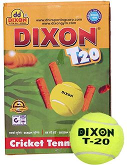 Dixon T-20 Tennis Cricket Ball (Pack of 6)
