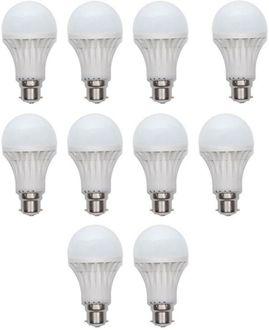 Ave 15W LED Bulb (White, Pack of 10)
