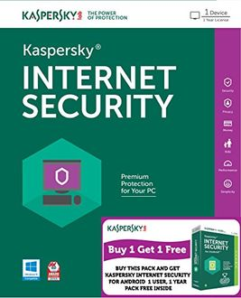 Kaspersky Internet Security 2016 1 PC 1 Year
