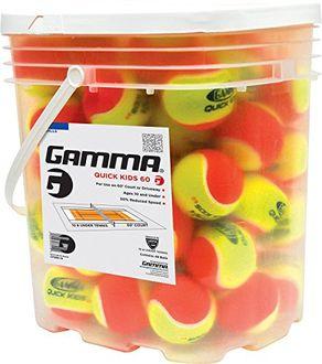 gamma Quick Kids 60 Tennis Balls (Pack of 48)