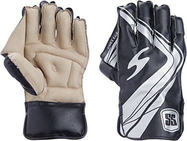 SS College Wicket Keeping Gloves (Men)