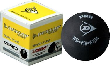 Dunlop Pro Double Dot Squash Ball