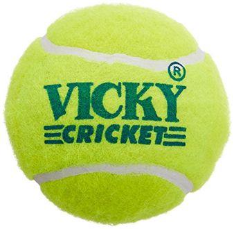 Vicky Cricket Tennis Cricket Balls (Pack of 6)