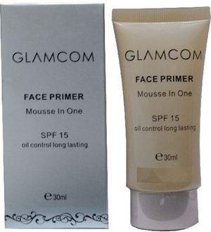 Glamcom Face Mousse in One Primer (Transparent)